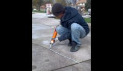 Sealant for driveway cracks help reduce surface water flowing underneath the slabs.