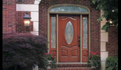 New installation entry doors