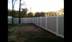 Two-tone 6 Ft Privacy fence