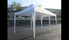 10' x 20' White Pop Up Tent - without wall panels - $99.00\n
