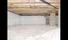 Vapor Bright Crawl Space Encapsulation System