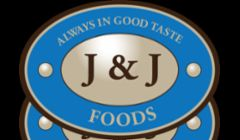 This is a custom logo design we did for a fine food distribution company. We also helped them come up with a tag line for their company:\ J & J Foods -