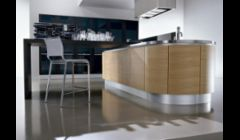 Integra Curved Lines Kitchen Design