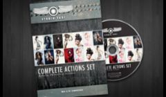 Photoshop Actions Product Development, Software Design, Packaging Design for Studio Taxi