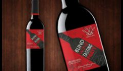 Custom Wine Label Design for D&B Events