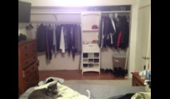 Closet conversion finished