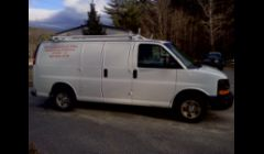 Brosseau Electric Work Van