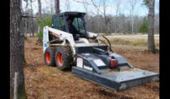 Bobcat Brush Mowing
