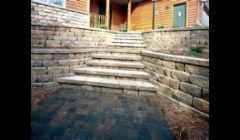 Decorative Stone Work: Natural Stone, retaining wall systems, walks, patios, Decorative Stone