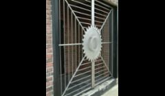 Stainless Steel Entryway Gate