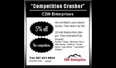 CDN Enterprises Competition Crusher Program