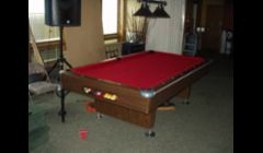 Pooltable we Moved and Recovered