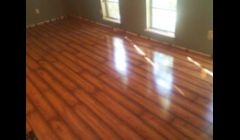 New hardwood living room floor we installed Garland Tx