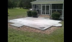 Broom Finish patio's