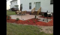Exposed aggregate Patio's