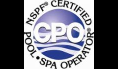 We are certified pool operators! Demand you pool guy be certified to prove they are qualified!