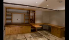 Office for General contractor using reclaimed douglas fir