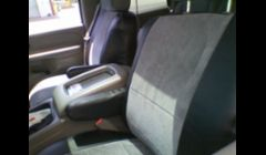 2004 f150 with custom seat covers.