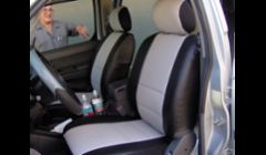 2006 toyota tacoma two tone custom seat covers