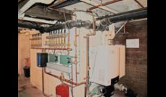 95% Efficient boiler with many zones