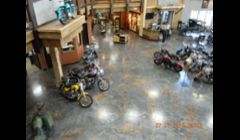 Epoxy Reflector Enhancer floor system at Harley dealership