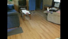 new flooring in mobile home