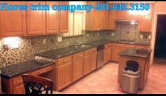 KITCHENT REMODELING.\nOVATUBA GRANITE AND GLASS BACK SPLASH. ANOTHER WORK'S BY FLORES TRIM COMPANY