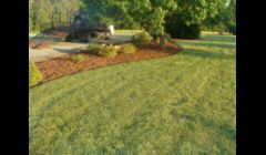 Mulch job