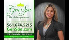 Gen Spa \ Massage therapy, nails, facials, make up