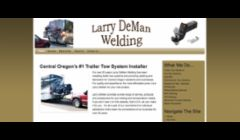 Website Design Sample for Larry DeMan Welding