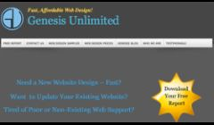The Genesis Unlimited Website