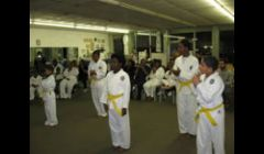 A few students at our Belt Test