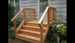 Custom Cedar porch