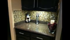 Install Back splash