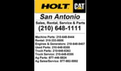 HOLT CAT San Antonio
