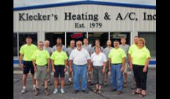 Our staff stands in front of our new shop in the City of Watertown July of 2012