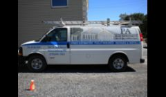 PA Home Improvements work truck in stroudsburg PA
