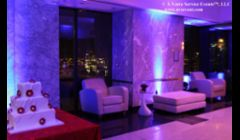 New York City Event Decor & Lighting photo courtesy of A Votre Service.