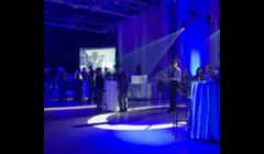 Event Decor & Lighting and DJ Service for a Corporate Event.