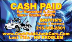 CASH PAID $ JUNK CARS & TRUCKS.....Auto Removal - Junk Cars Wanted