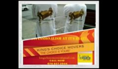 KING'S CHOICE MOVERS
