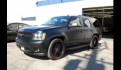 Full Body Black Matte on Chevy Tahoe