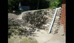 Lannon Stone wall after