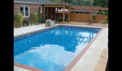 New Pool Liner, Coping, and Concrete in Decatur GA