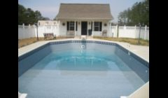 New Grecian Pool Liner in Dallas GA