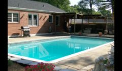 Old Pool Liner, Coping and Concrete in Decatur GA