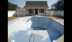 Old Grecian Pool Liner in Dallas GA