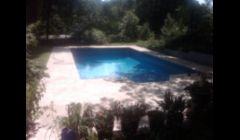 New Swimming Pool Liner Pool after Renovation in Atlanta GA