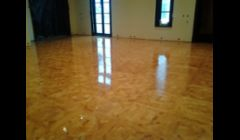 COATED PARQUET FLOORING