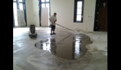 REPAIRING UNEVEN CONCRETE FLOOR